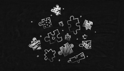 drawing many puzzle