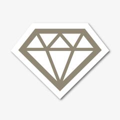 Logo diamant.