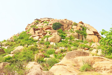 Astounding and huge Hampi  UNESCO World Heritage Site Karnataka