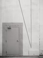 Metal wall and armor doors.