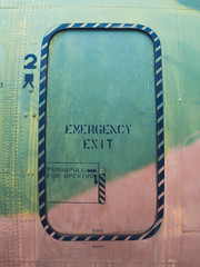 Airplane emergency exit