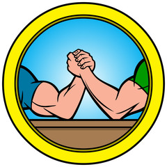 Arm Wrestling Icon