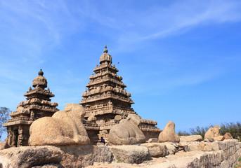 Thirukadalmallai Shore Temple mamallapurna tamil nadu india