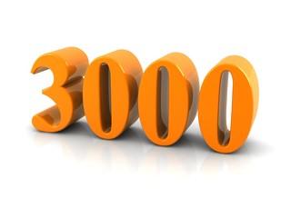 number 3000