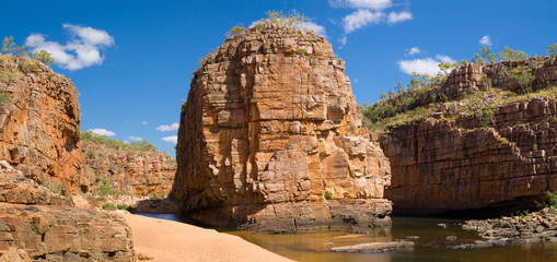 Smith Rock in Katherine Gorge Australia