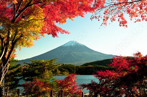 Deurstickers Japan Mt Fuji
