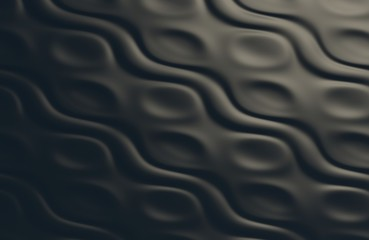 smooth waved surface
