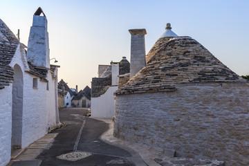 Alberobello's Trulli. Puglia. Italy