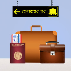 baggage checked