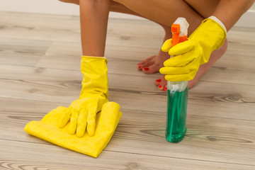 cleaning parquet