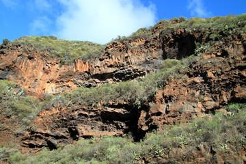 Volcanic island of La Palma