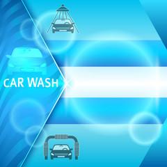 carwash-layout-banner-presentation-washing-car