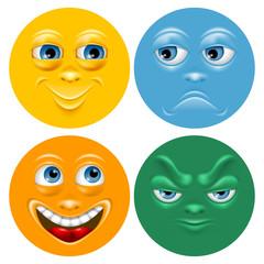 Cartoon face