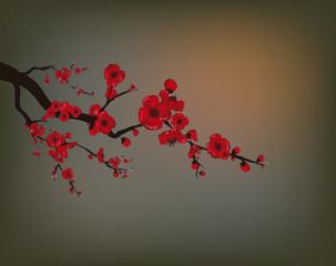 pommier rouge