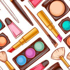 Seamless decorative cosmetics - 1
