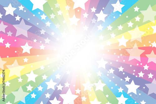 ベクター: 背景素材壁紙,虹 ...