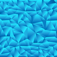 Blue Origami Background - Vector EPS10