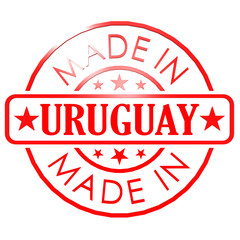 Made in Uruguay red seal
