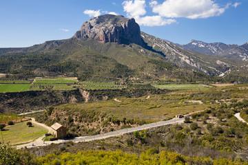 Cerro del Valle en Riglos. Huesca