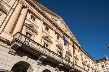Palazzo comunale di Aosta, Aosta, Valle d'Aosta, Italia