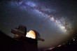 Astronomical observatory under the stars - 74665399