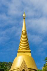 thailand temple golden pagoda