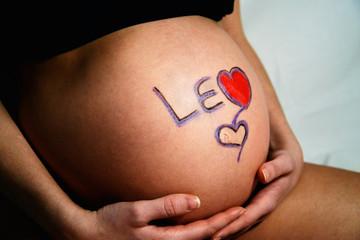 maternità pancia mamma
