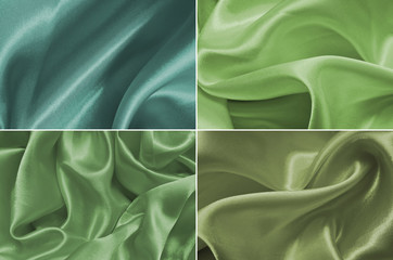 Set satin fabric texture background