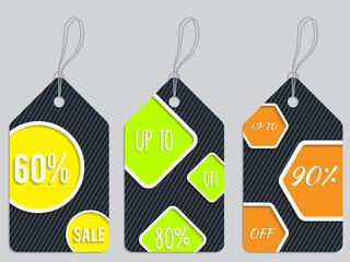 Vivid color discount labels