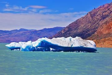 Lake Viedma in Argentine