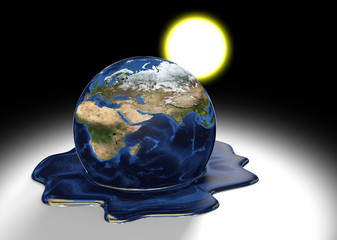 Climate change, parts of this image furnished by NASA