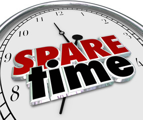 Spare Free Time Passing Leisure Activities Clock Hours Minutes