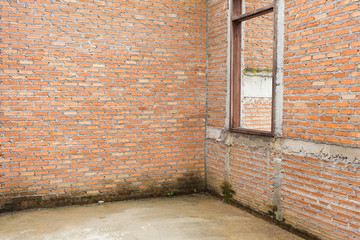 brick wall construction grunge texture background