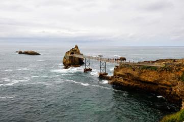 Biarritz rocher de la vierge