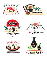 Japanese seafood set