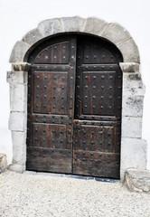 Porte bois ancienne