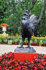 Statue Coq