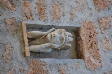 Gargoyle, Saint Paul de Vence, Francia