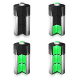 Wskaźniki naładowania baterii