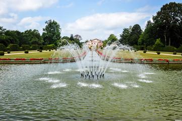 Parc et bassin