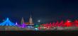 Leinwandbild Motiv Tollwood Winter Festival Munich