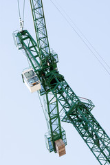 Vertical crane detailed