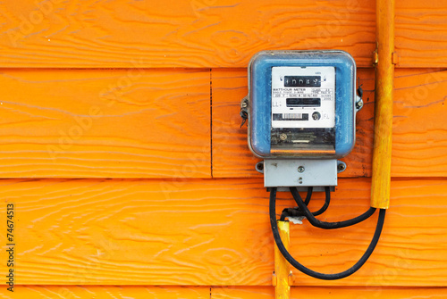 An Smart Meter in soft light - 74674513