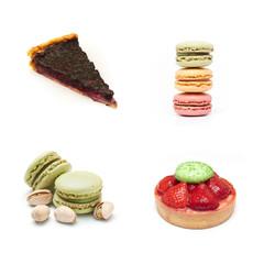 composition pâtisseries