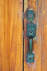 Chest Latch on wood door