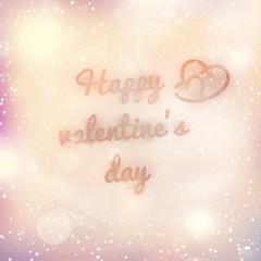 Happy valentine's day. EPS 10