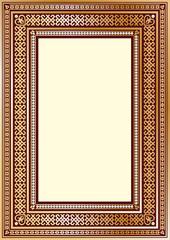 Luxury vintage ornate frame for your art design