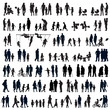 People silhouettes - 74676758
