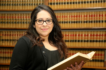 Hispanic Female Lawyer Law Office