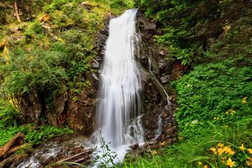 small waterfall in Val di Sole